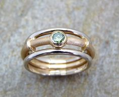 Fine green Diamond ring green diamond engagement ring by Baiwy Green Diamond Rings, White Gold Rings, Classic Engagement Rings, Diamond Engagement Rings, Ring Designs, Diamond Sizes, Beautiful Rings, Wedding Rings, Wedding Jewelry