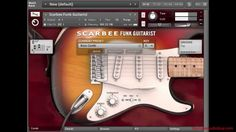 Custom Chord Patterns Using Native Instruments Scarbee Funk Guitarist