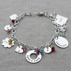 brand new {charmed} bracelets - 14 charms to choose from!