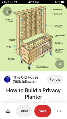 Enclosed Carport, Cedar Trellis, Carriage Bolt, Old Houses, Old Homes, Old Mansions
