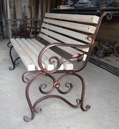 Wrought Iron Bench, Cast Iron Bench, Wrought Iron Decor, Wrought Iron Gates, Outdoor Garden Furniture, Garden Chairs, Metal Picnic Tables, Grill Door Design, Iron Furniture