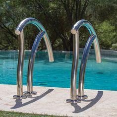 Best Artisan Hand Rail On Pool Pool Ladder Pool Steps 400 x 300