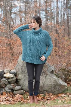 806f25e628b3f Perdita is a free sweater knitting pattern knit from the bottom up with  Berroco Inca Tweed