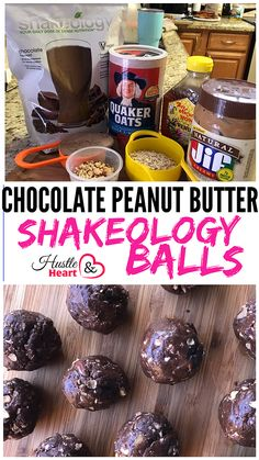 Healthy Living for Busy Moms · 21 Day Fix · Recipes · Family Friendly Menu Plans · Clean Eating · Motivation · Hustle & Heart will set you apart! Peanut Butter Balls, Chocolate Peanut Butter, Chocolate Recipes, Healthy Afternoon Snacks, Healthy Snacks, Healthy Recipes, Healthy Breakfasts, Healthy Nutrition, Healthy Eats