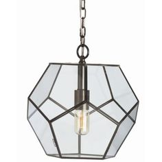 Tenley Pendant (Bronze/Small) - OPEN BOX RETURN by Arteriors