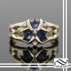 Zoras Sapphire Ring http://www.earthartgems.com/