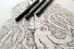 Doodles & Illustrations 2013 on Behance