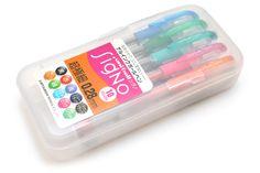 Uni-ball Signo (DX) UM-151 Gel Ink Pen - 0.28 mm - 10 Color Set