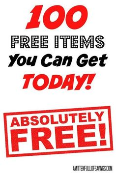 100 Free Items You Can Get Today We love getting stuff for free, and these 100 Free Items You Can Get Today are just the beginning. Some of these items even break down into more when you look at individual things. This list is a great resource to help you Stuff For Free, Free Stuff By Mail, Free Baby Stuff, Freebies By Mail, Baby Freebies, Birthday Freebies, Free Samples By Mail, How To Make Money, How To Get