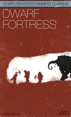 Dwarf Fortress box art #pc #gaming