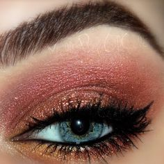 Falling for Autumn: Autumn Crush eyeshadow look by Molly A