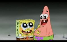 SpongeBob and Patrick : Best Friends for Life.