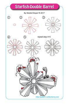 Starfish-Double Barrel by Nicole Dreyer