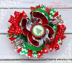 stacked hair bows - Google Search