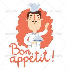 Bon Appetit - GraphicRiver Item for Sale