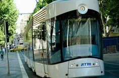 France, Provence, Marseille, tram