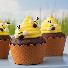Beehive Cupcakes | View More Recipes
