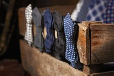 A dapper collection of #bowties