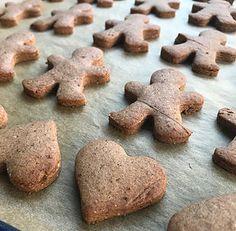 Vegan gingerbreadmen
