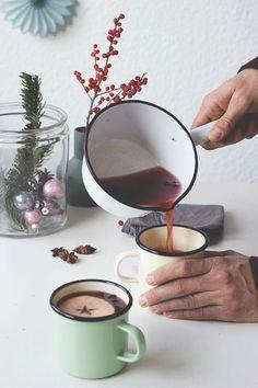 Weihnachtspunsch á la Pettersson und Findus. Rezept für alkoholfreien Punsch. Holunderweg18