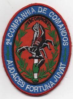 PORTUGAL PORTUGUESE COMANDOS COMMANDOS 2 COMP. CMD UNIT PATCH