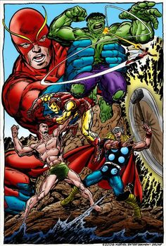 Versus-Avengers and Hulk photo 785666-avengers_vs_hulk___submarine.jpg