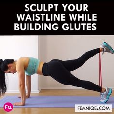 A quick home ab + glutes workout routine that revs up your metabolism for fat burn! # Fitness videos Try This Easy-To-Do Abs and Butt Workout Plan (No Gym Needed) Fitness Workouts, Butt Workout, At Home Workouts, Fitness Tips, Fitness Quotes, Fitness Men, Fitness Style, Fitness Outfits, Fitness Logo