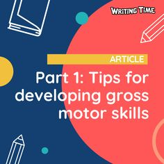 Do your students struggle with fatigue after short writing tasks? The problem could be poor gross motor development. Try incorporating these fun gross motor activities into your weekly program to improve your students' handwriting development. Gross Motor Activities, Gross Motor Skills, Teaching Tips, Handwriting, Improve Yourself, Students, Classroom, Fun, Penmanship