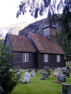 Flåm kyrkje Foto: Kyrkjelydskontoret
