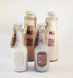 Iku milk bottles