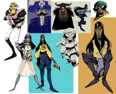 Character Design - Enrique Fernandez