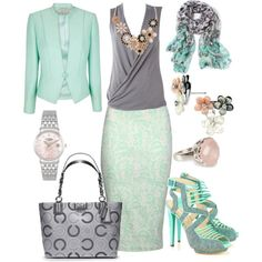 """""""Business Casual"""" by scardiary on Polyvore. Women's fashion"""