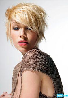 Very Short Blonde Hairstyles For Women 2014 Short Blonde Haircuts, Very Short Haircuts, Popular Short Hairstyles, Undercut Hairstyles, Funky Hairstyles, Pretty Hairstyles, Blonde Hairstyles, Tabatha Coffey, Hair Styles 2014
