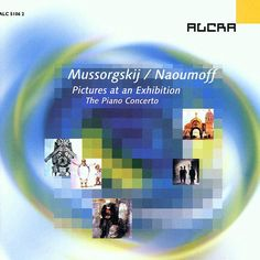 Modest Mussorgskij: Pictures at an Exhibition (PIano Concerto) / Emile Naoumoff: Meditation - Emile Naoumoff / DSO Berlin - Wergo