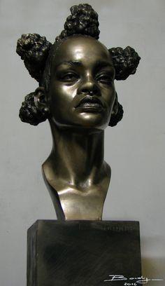Rihanna bronze by Rudyger on DeviantArt