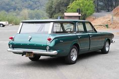 Partially Restored 1963 Dodge Dart Station Wagon