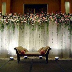23 ideas garden wedding ceremony decorations simple for 2019 Wedding Stage Backdrop, Wedding Reception Flowers, Wedding Table, Stage Backdrops, Wedding Ceremony, Wedding Church, Wedding Mandap, Ceremony Backdrop, Wedding Receptions