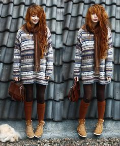 Nadia Esra - Biiig Sweater, Bag - WINTER IS COMING!