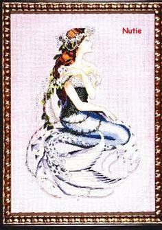 Punto de Cruz GRATIS: Sirena Encantada