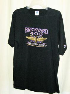 FREE U.S. Shipping! Inaugural BrickYard 400 08/06/1994 Shirt! Size: Adult Large. #Logo7 #HendrickMotorsports