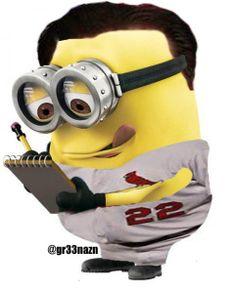 baseball minions | Despicable Mo: Mike Matheny |