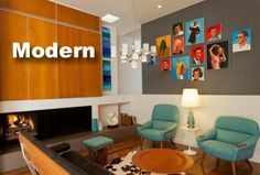 Modern style homes from Realtor.com