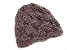 Ravelry: Embossed Leaves Hat pattern by Heather Tucker