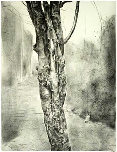 George Shaw, Fuck You Fuck Me Tree, lithograph, edition of 50.