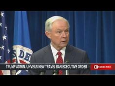 President Trump Administration Announces New Travel Ban   PRESS CONFERENCE