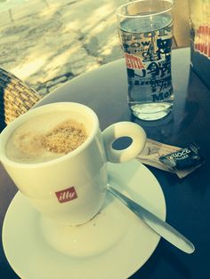 Coffee by the Jadran sea croatia