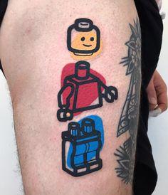 Pretty Tattoos, Cute Tattoos, Unique Tattoos, Symbolic Tattoos, Body Art Tattoos, Sleeve Tattoos, Forearm Tattoos, Lego Tattoo, Hairline Tattoos