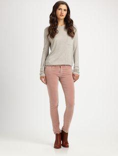 Breathless Velvet Skinny Jeans