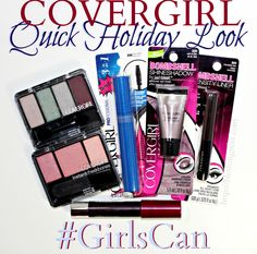 Easy Holiday Look w/ COVERGIRL + enter to win a $25 Walmart Gift Card! #GirlsCan