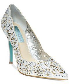 Blue by Betsey Johnson Elsa Evening Pumps - Pumps - Shoes - Macy's